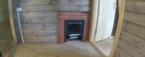 Дверца топливника с другой стороны