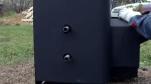 Резьбовые соединения для подключения выносного бака к теплообменнику