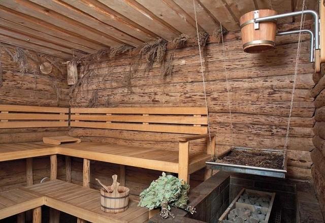 Сама атмосфера в бане должна способствовать отдыху и расслаблению