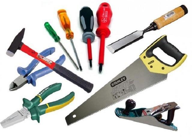 Для работы необходимо подготовить набор инструментов