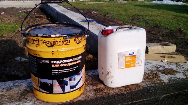 Мастика для гидроизоляции фундамента