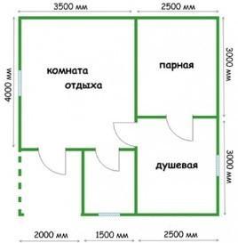 Планировка 6х6