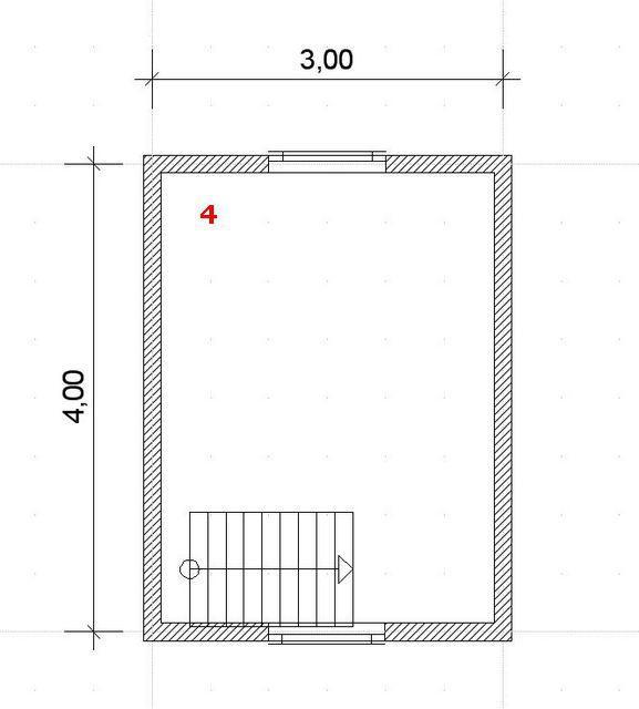 Второй этаж - мансарда, полностью отдан под комнату отдыха