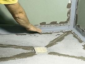 Как залить пол в бане с уклоном