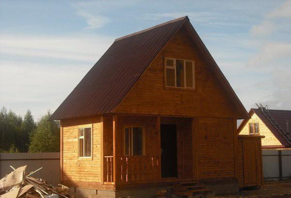 Дом-баня 6х6 м