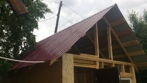 Монтаж профлиста на крышу