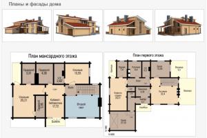 Большой дом-баня 15х15 с цокольным этажом