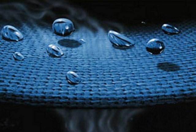 Действие диффузной мембраны - вода задерживается, а пар проходит