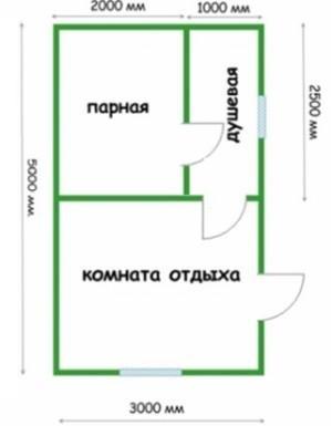 Планировка 3х5