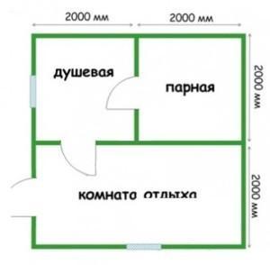 Планировка 4х4