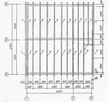 Балки следует класть параллельно одна другой, проверяя горизонтальность укладки строительным уровнем