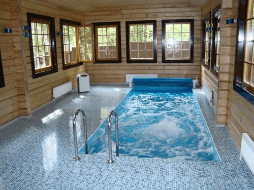 Бассейн в бане подразмевает качественную гидроизоляцию всех поверхностей