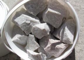 Белый кварцит для бани — лучший вариант