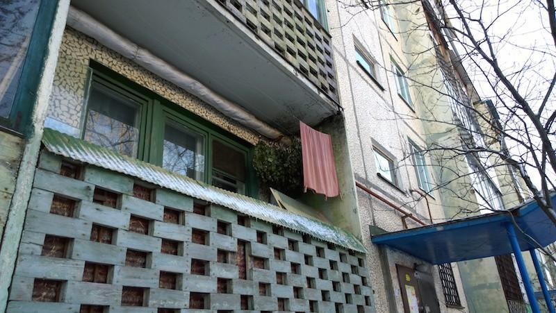 Веники не стоит сушить на балконе