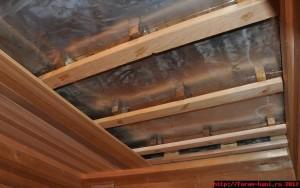 Вентиляционнй зазор на потолке