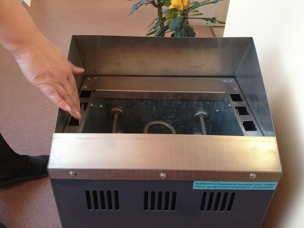 Внимательно осмотрите электрическую печь перед началом ее установки и подключения