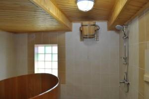 Внутренняя отделка бани кафельной плиткой