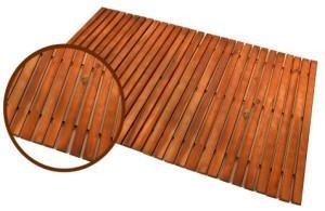 Деревянный коврик из эвкалипта