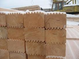 Деревянный профилированный брус