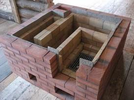 Использование теплоизолятора при строительстве печи - пример