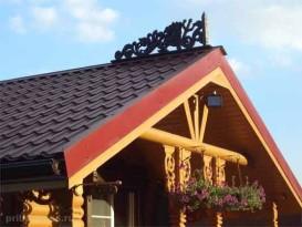 Как сделать крышу на бане