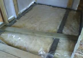 Как утеплить минватой потолок