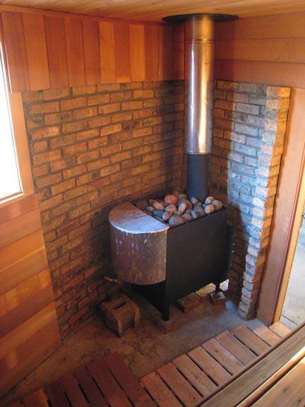 Установка дымохода в баню с выносной топкой нормы высота дымохода