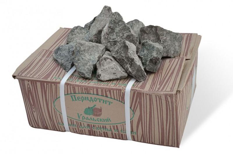 Камни для сауны и бани перидотит уральский (дунит)