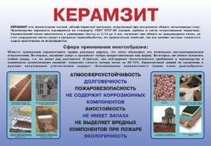 Керамзит - преимущества и применение