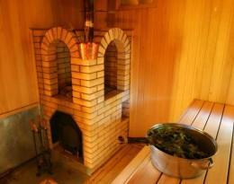 Кирпичная банная печка
