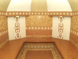 Мозаичная плитка в хамаме