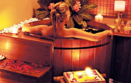 Посещение японской бани