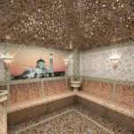 Потолок в турецкой бане