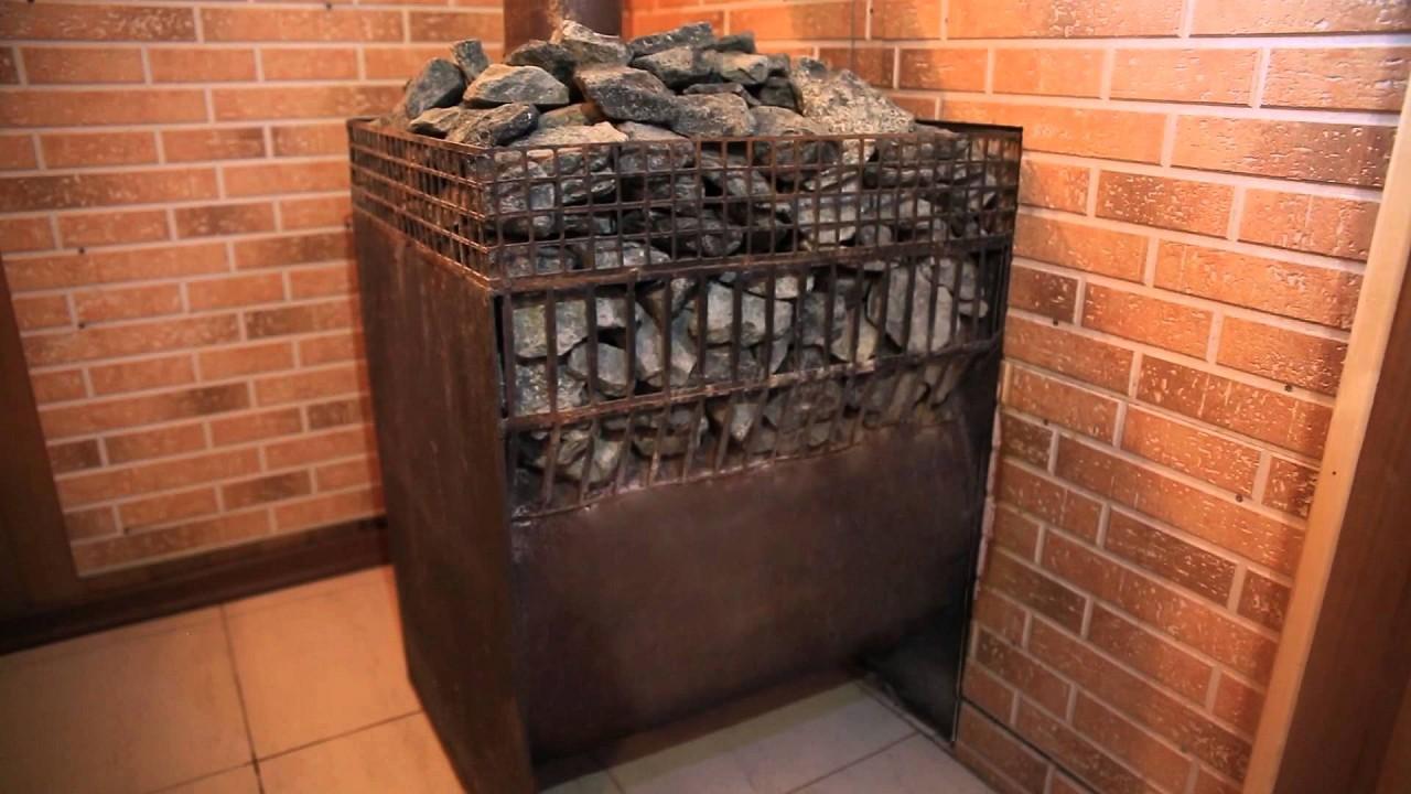 Пример установки газовой каменки