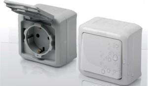 Розетки и выключатели в баню IP 54