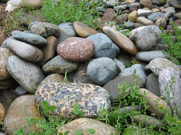 Сбор камней для бани