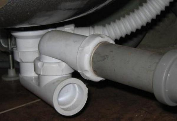 Сифон для душевой кабины с низким поддоном