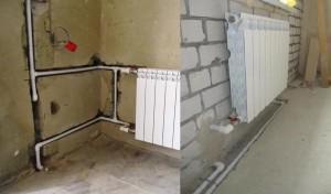 Скрытый монтаж в стене или полу