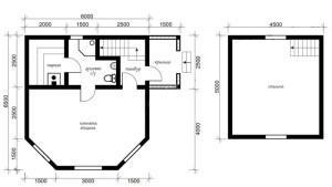 Составляя проект, учитывайте и высоту потолков