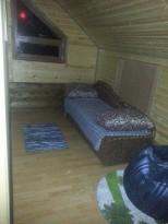 Спальная зона на мансарде