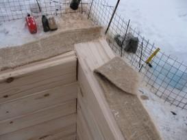 Утепление углов дома из клееного бруса джутом