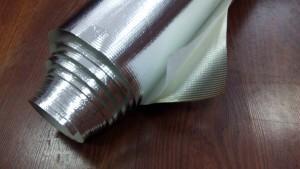 Фольга с липким слоем армированная