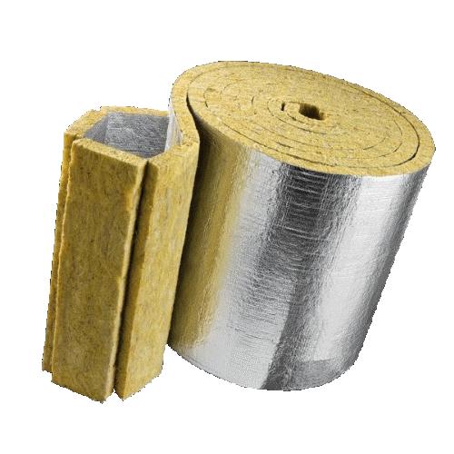Фольгированная рулонная минеральная вата
