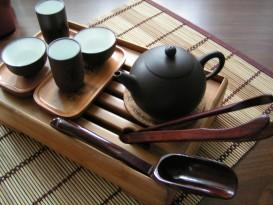 Чаепитие после офуро