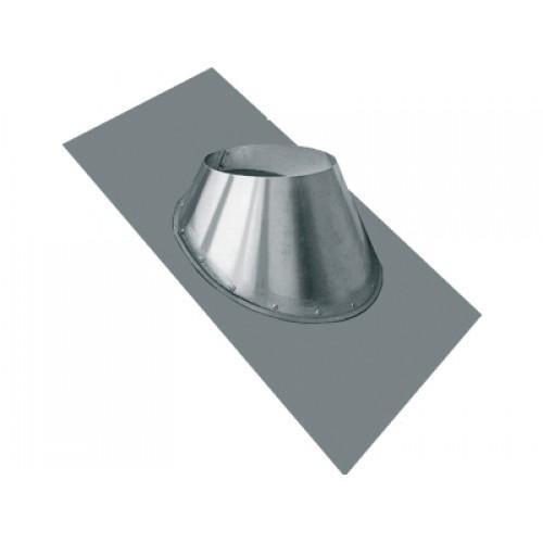 Чтобы закрыть трубу на крыше, используются кровельные проходы, например, круглого сечения