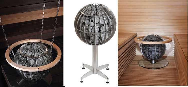 Электрическая каменка для бани и сауны Harvia Globe