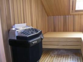 Электрическая печь в сауне