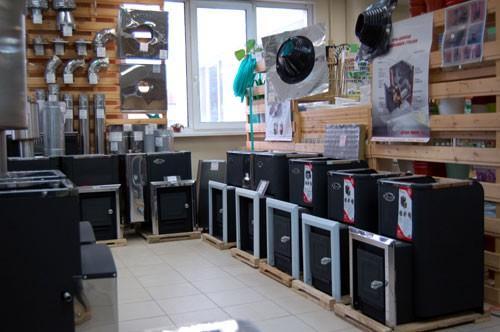 Электрические банные печи (ассортимнт в одном из магазинов)