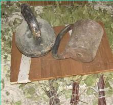 Хранение веников под грузом