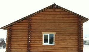 Двускатная крыша неравносторонняя